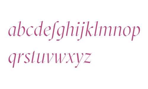 GT Sectra Display Light Italic