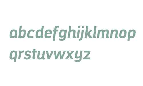 DarwinAlt W00 Bold Italic