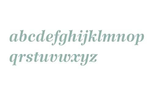 Wilke LT Std 76 Bold Italic