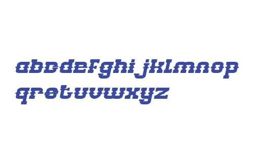 BILLY THE KID Bold Italic