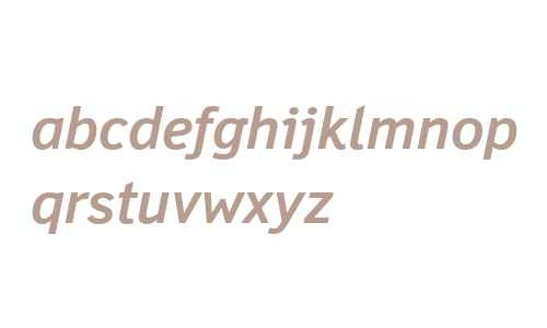 Felbridge W04 Bold Italic