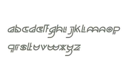 NEVER ENDING MAZE Italic
