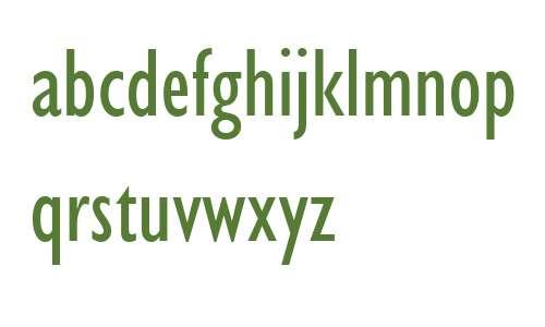 Gill Sans MT Condensed