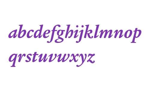ITC Legacy Serif Std Bold Italic
