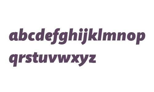 Quire Sans W04 Fat Italic