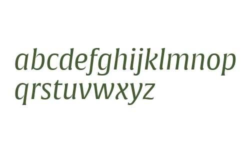 Alverata W07 PE Italic