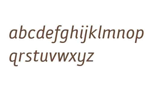 Folder Italic