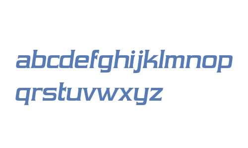 Vibrocentric Bold Italic