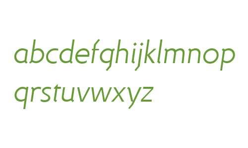 DeeDee Light Italic
