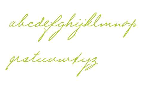 Lizzy Handwriting W90 Regular