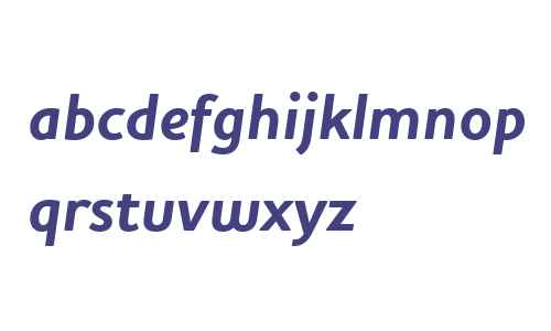Houschka W03 Bold Italic