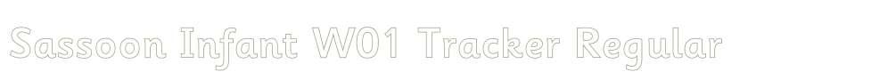 Sassoon Infant W01 Tracker