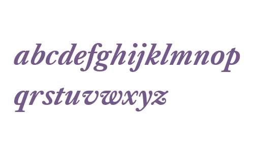 Kings Caslon W01 Bold Italic