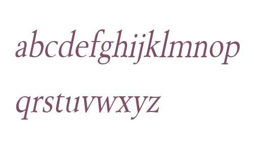 Revive 8 Condensed Italic