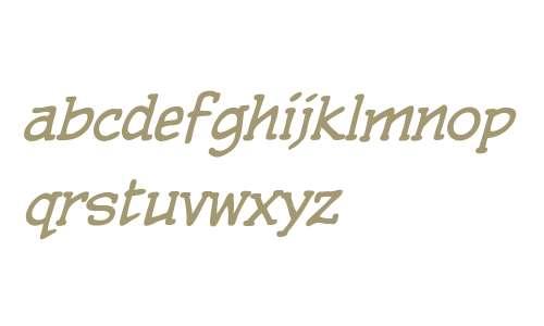 CCPulpFiction Italic