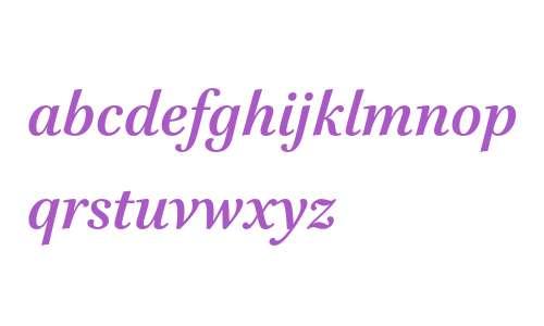 Brill Bold Italic