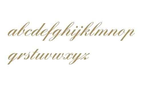 English Script W01 Demi