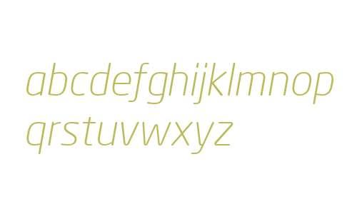 Neo Sans Cyr Light Italic