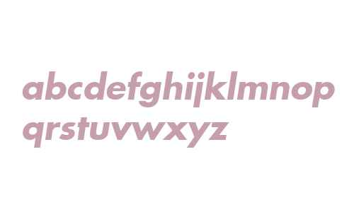 Modern  Bold Oblique