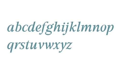 GHEA Aspet W01 Medium Italic