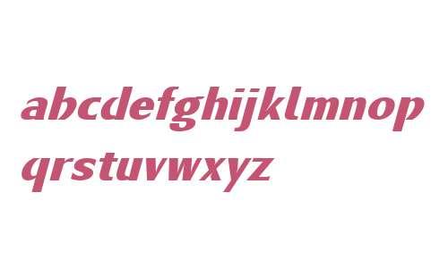 Metamoderna W01 Bold Italic