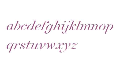 Surveyor Fine Light Italic