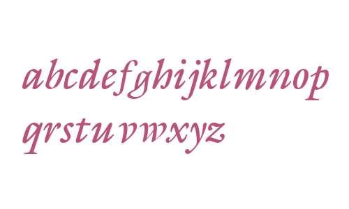 Galliard Italic