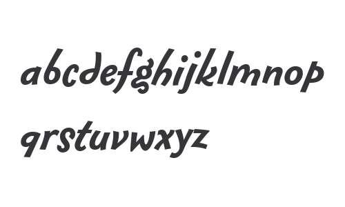 Fontesque Sans Offc W02 Bold It
