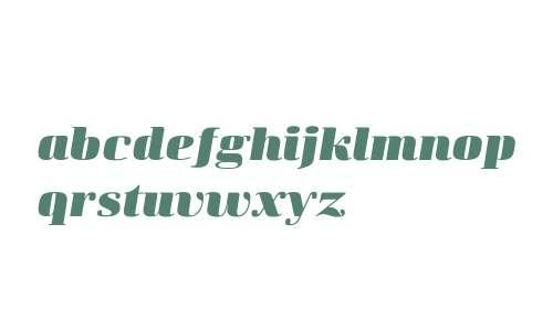 Curve W01 UltraBold-Italic