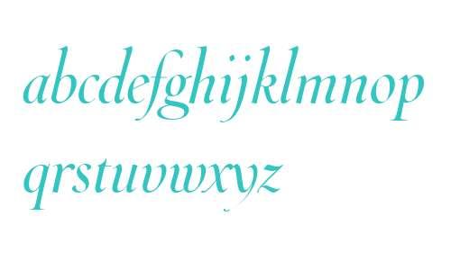 Throhand W01 Italic