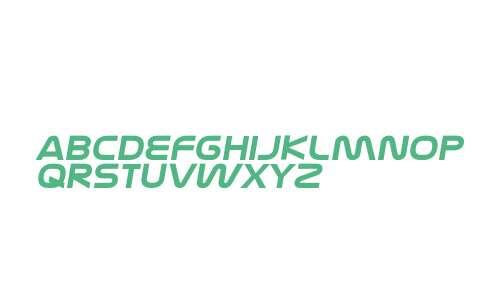 Nasalization Extended Bold Italic