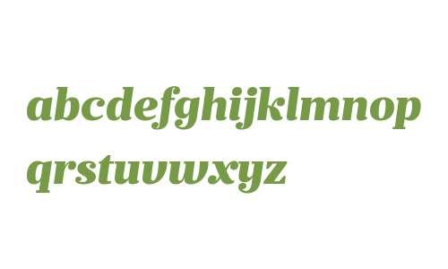 Prumo Text W00 Black Italic
