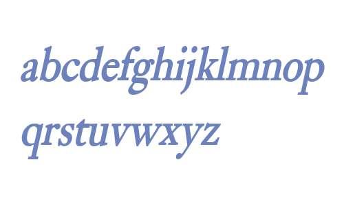 Bliss Condensed Bold Italic