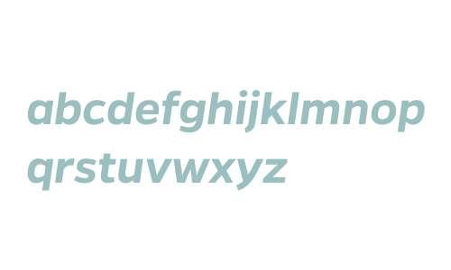 Gentona W00 SemiBold Italic