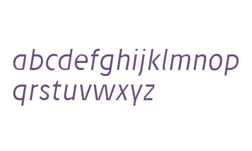Josef reduced Light Italic