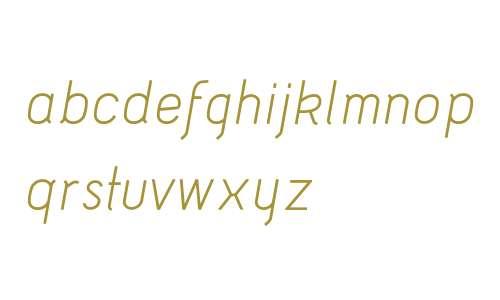 Acid Italic