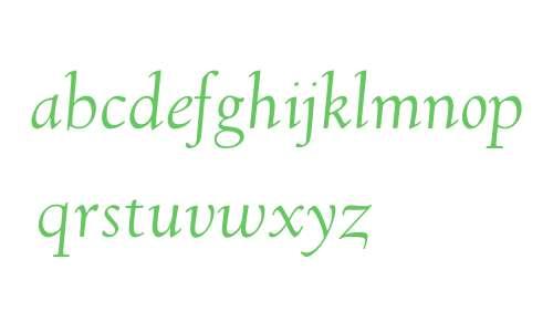 GoudyVillageL-Italic