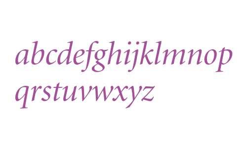 Minion Italic Display