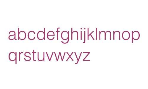 Helvetica LT Std Light