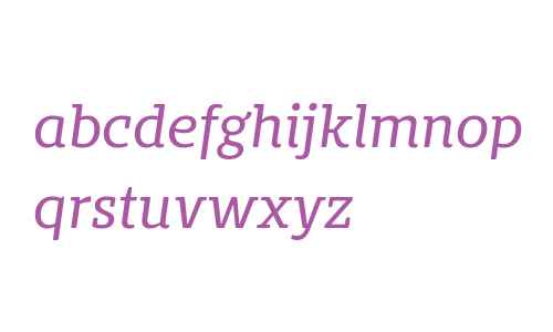 Bommer Slab Rounded Regular Italic