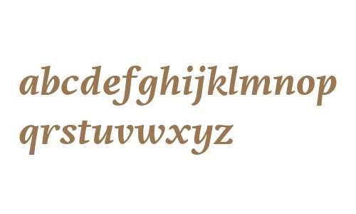 Edita W02 Bold Italic