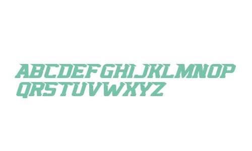 Top Speed Italic