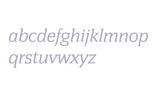 Congress W02 Regular Italic