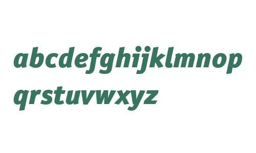 ITC Officina Sans W04 Blk Ital