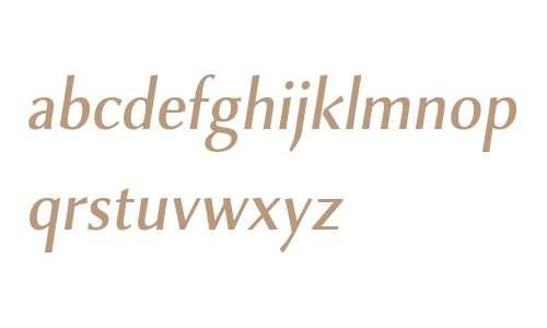 Combi Sans W01 Medium Oblique