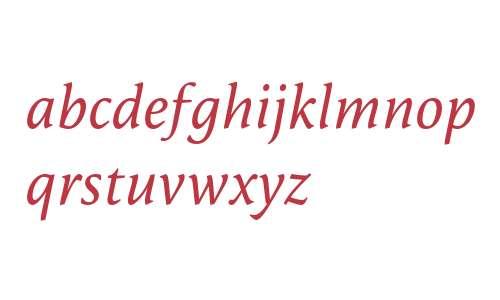 Reminga OT W03 Regular Italic