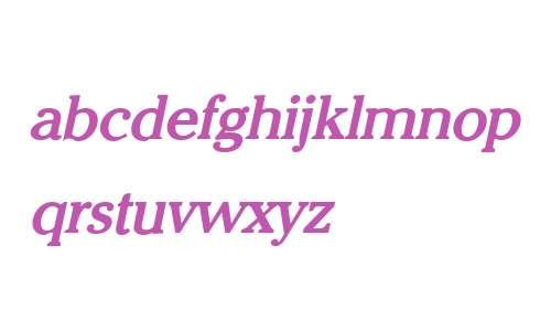Chelsey Bold Italic