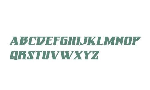 Eternal Knight Bold Italic