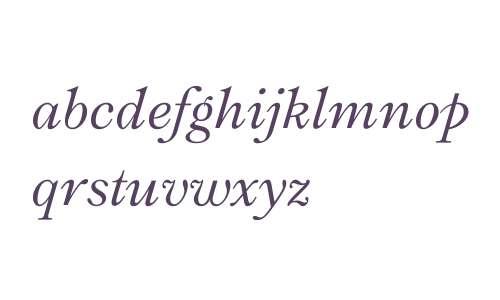 Ronaldson W01 Italic