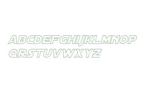Distant Galaxy AltOutline Italic V1